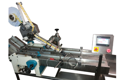 Stand-Alone-Sticker-Labeling-Applicator-Stepper