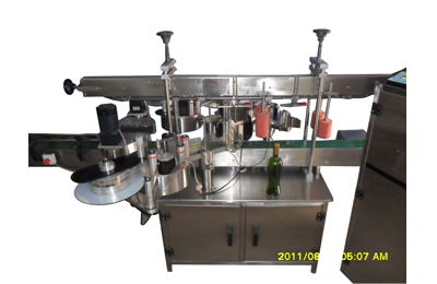 Single-Side-Sticker-Labeling-Machines-for-Flat-Bottles-&-Containers