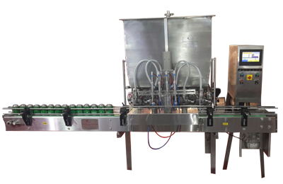 Automatic-Four-Head-Viscous-Paste-Filling-Machines