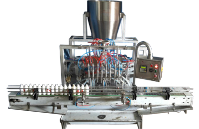 Automatic-Eight-Head-Viscous-Paste-Filling-Machines